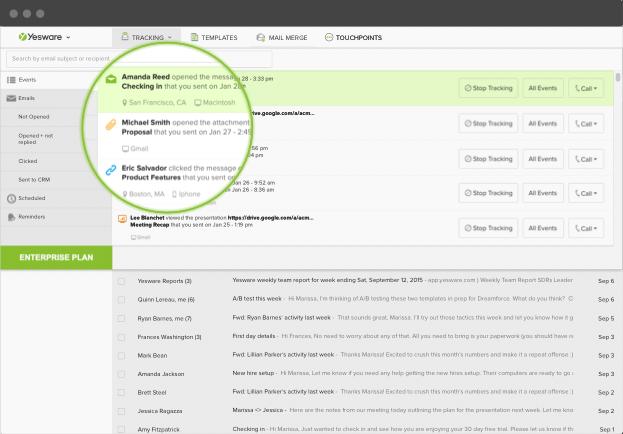 recherche d'emploi - tracker les emails
