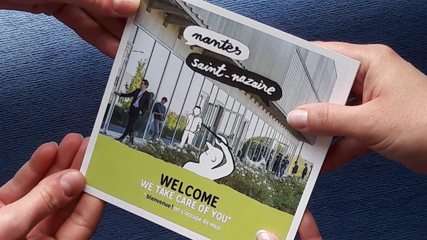 Welcome Pack pour accueillir les salariés qui s'installent à Nantes Saint-Nazaire